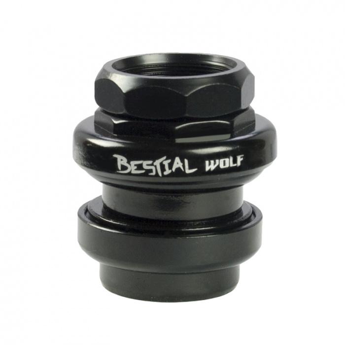 Bestial Wolf zavitový headset černý