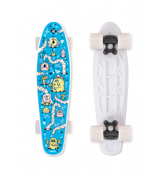 Skateboard FIZZ FUN BOARD Alarm Blue