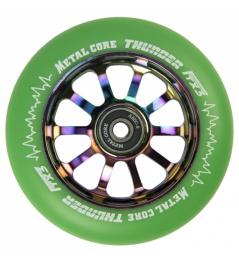 Metal Core Thunder Rainbow 110 mm koliesko zelené