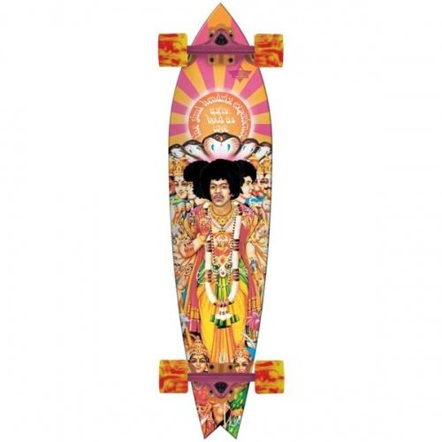 Longboard Dusters Hendrix Axis Bold Longboard orange/pink vell.38