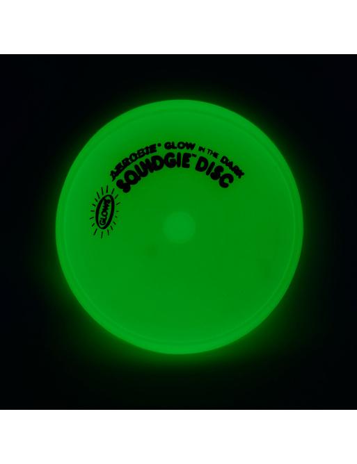 Flying plate Aerobie SQUIDGIE phosphorescent