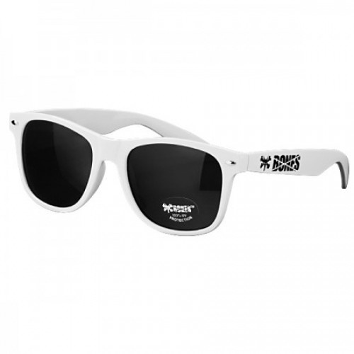 Bones white glasses