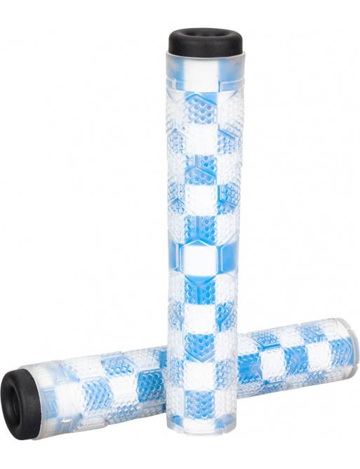 Grips Stolen Hive SuperStick Flangless Clear / Fasttimes Blue
