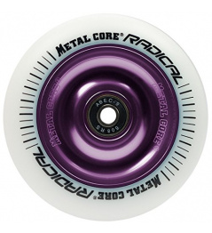 Metal Core Radical 110 mm kolečko bílo fialové