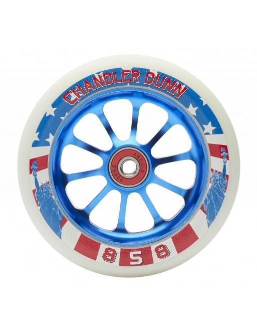Ride 858 Chandler Dunn 120 mm castor blue