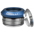 Zintegrowany zestaw niebieskich głowic Chilli