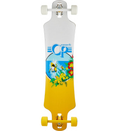 "Longboard Ocean Pacific Double Drop 39"" White"
