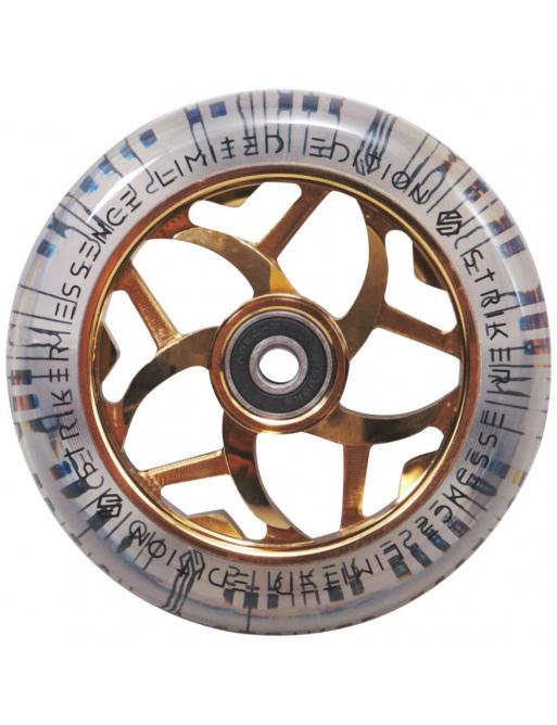Kolečko Striker Essence V3 Clear 110mm Gold Chrome