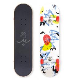 """Skateboard Street Surfing STREET SKATE 31"""" Wall Writer II."""