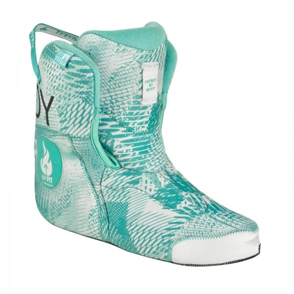 Powerslide boot MY FIT Fat Boy Medium Liner Teal Universe