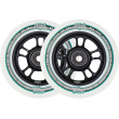 North Wagon Wheels 110mm Black 2pcs