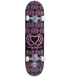 "Skateboard Heart Supply Bam 8"" United Black Purple"