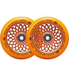 Kolečka Root Lotus 110x24mm Radiant Orange 2ks