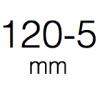 Ruedas de 120-5 mm