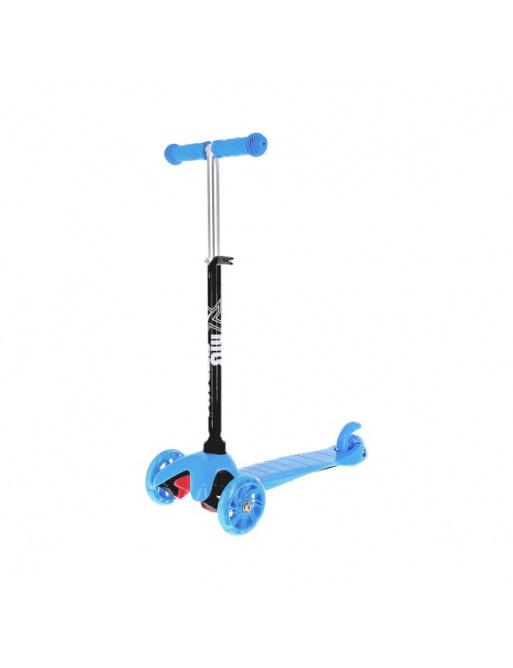 Koloběžka tříkolová NILS EXTREME HLB05 modrá