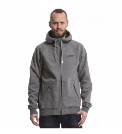 Mikina Nugget Seeker C heather light grey 2019 vell.M