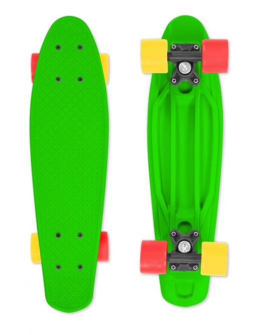 FIZZ Skateboard BOARD Green, green