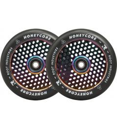 Kolečka Root Industries Honeycore black 120mm 2ks Neochrome