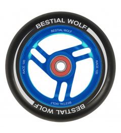 Bestial Wolf Race 100 mm kolečko černo modré