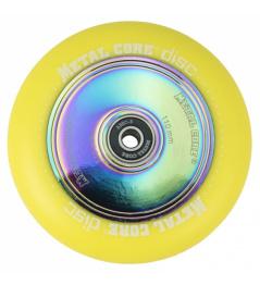 Metal Core Disc 110 mm kolečko žluté