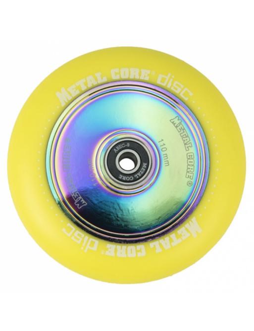 Metal Core Disc 110 mm koliesko žlté