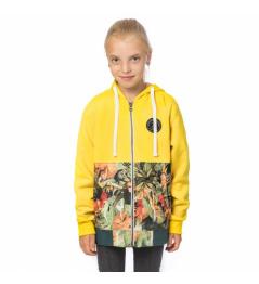 Mikina Horsefeathers Adeline lemon 2019/20 dětská vell.M