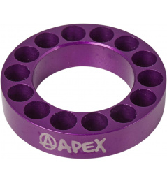 Headset spacer Apex 10mm fialový