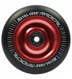 Metal Core Radical 110 mm koliesko čierno červenej