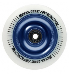 Metal Core Radical 110 mm kolečko bílo modré