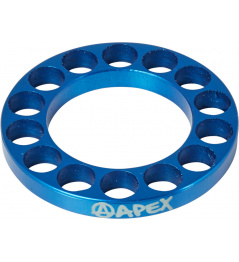 Headset spacer Apex 5mm modrý
