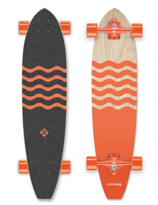 Street Surfing Blown Out Longboard