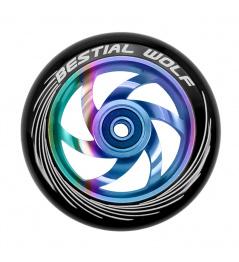 Kolečko Bestial Wolf Twister 110mm Rainbow