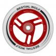 Bestial Wolf Race 100 mm kolečko bílo červené