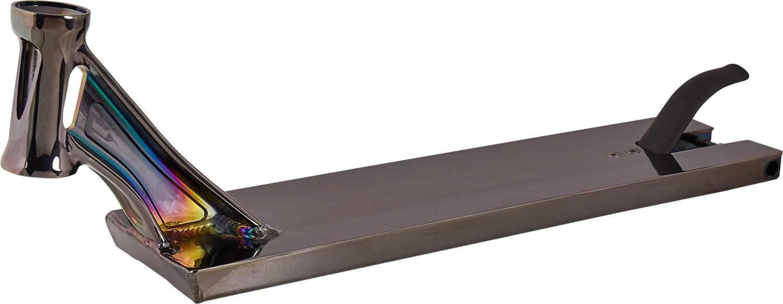 Striker Street deska 530mm metalická černá + griptape zdarma