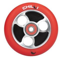 CHILLI Parabol 100 mm red / black wheel