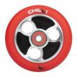 CHILLI Parabol 100 mm červeno/ černé kolečko