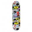 SKATEBOARD NILS EXTREME CR 3108 SA POP ART