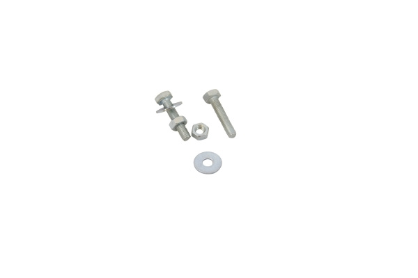 Guide bar and control arm connecting bolt