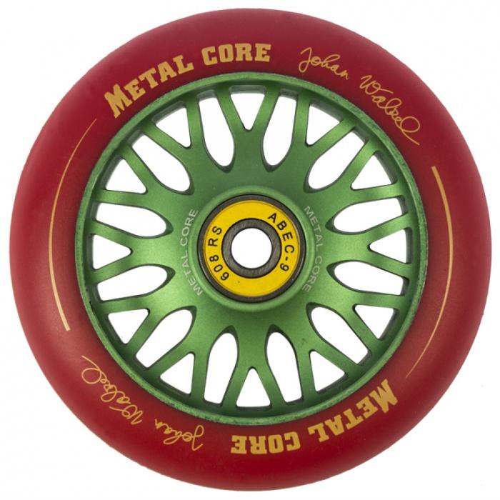 Metal Core PRO Modell Johan Walzel 110 mm grünes Rad