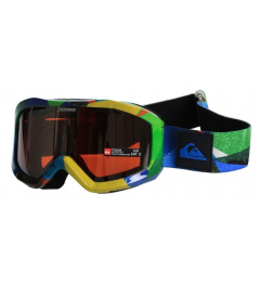 Snow Goggles Quiksilver Fenom Art Mirror green / orange chrome 2013/14