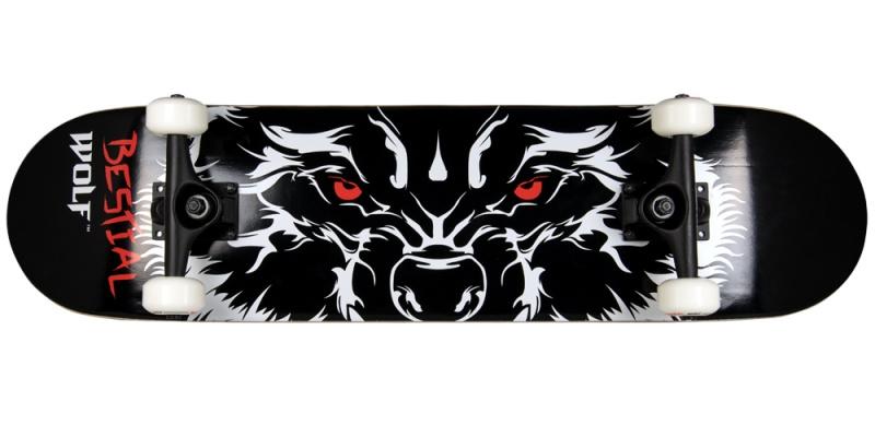 Bestial Wolf Rabies patineta