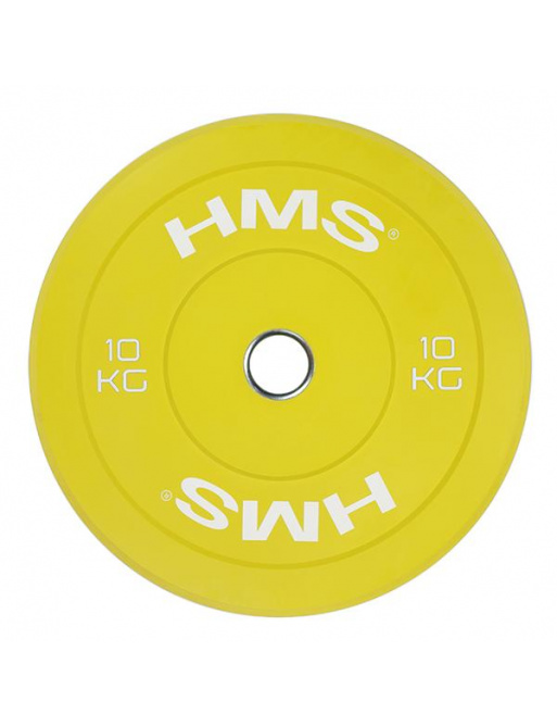 Barevný bumper kotouč HMS 10 kg