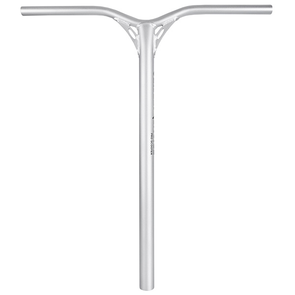 Chili Supple Zero handlebar silver: 650 mm + bar adapter