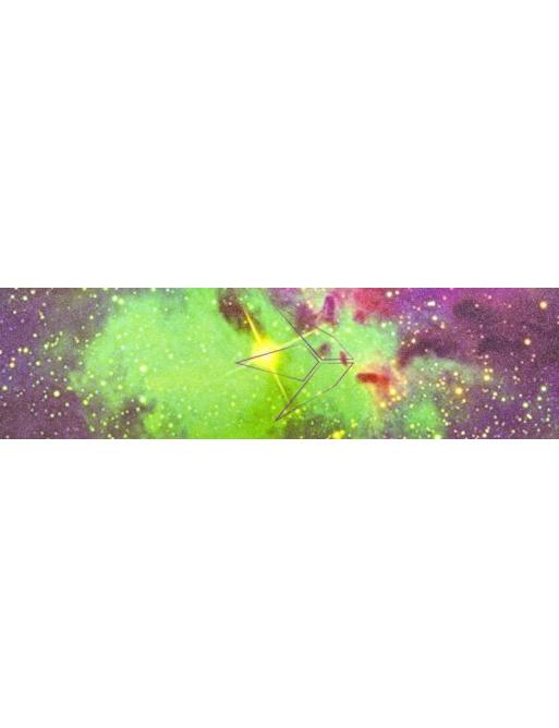 Blunt Galaxy green griptape