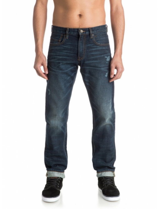 Jeansy Quiksilver Revolver 235 bncw agy blue 2016/17 vell.33/32