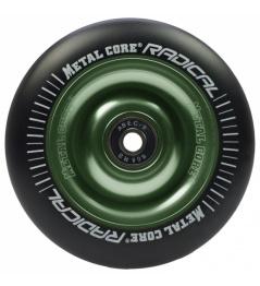 Metal Core Radical 100 mm kolečko černo zelené