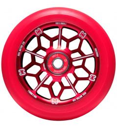 Kolečko CORE Hex 110mm červené