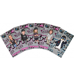 Samolepky Figz Collectors Scooter Sticker 6-Pack Pack 5