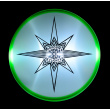 Flying plate Aerobie SKYLIGHTER green
