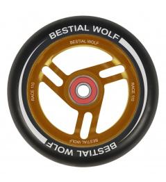 Bestial Wolf Race 110 mm kolečko černo oranžové